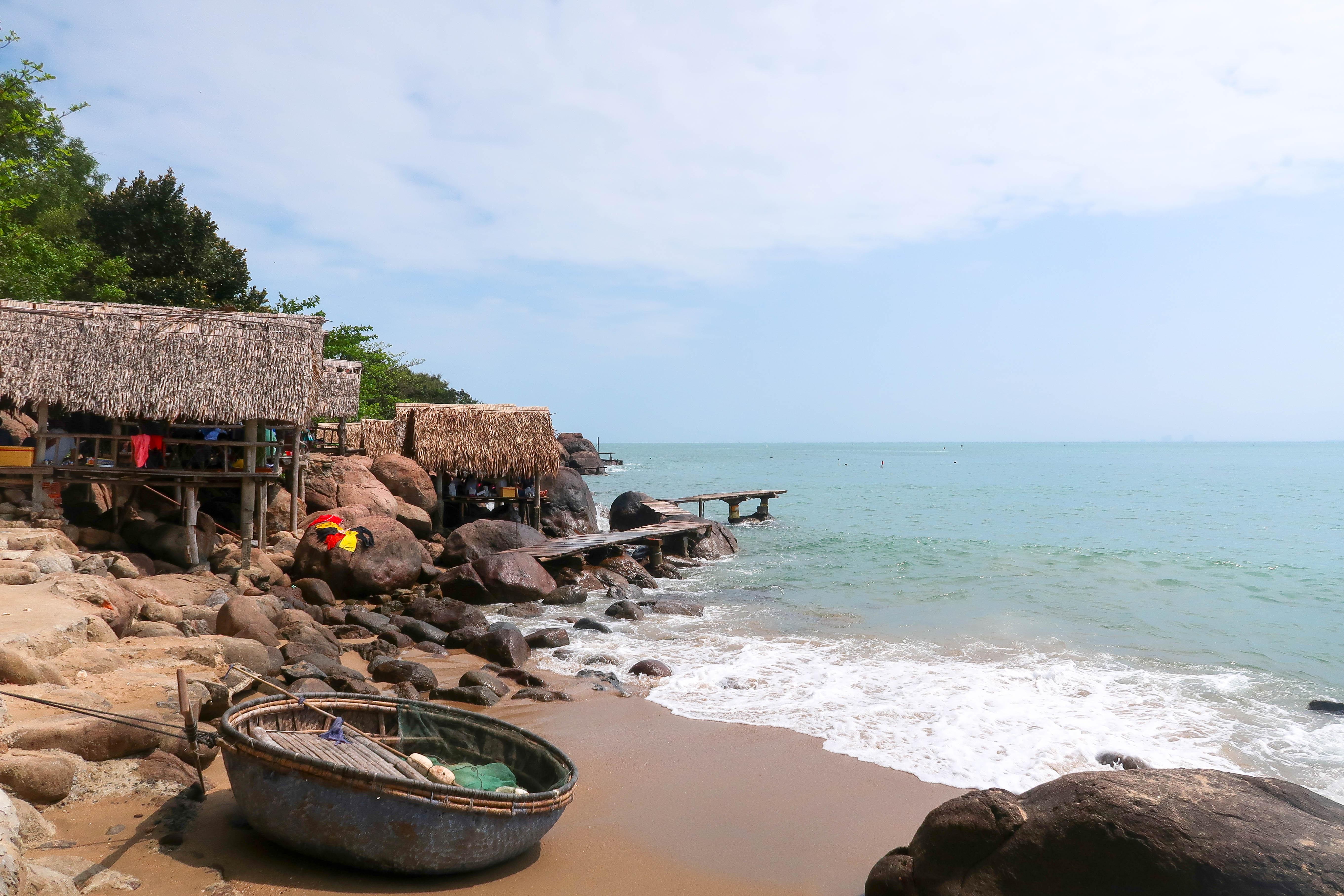 Plage cabane 1 sur 1 - VIETNAM