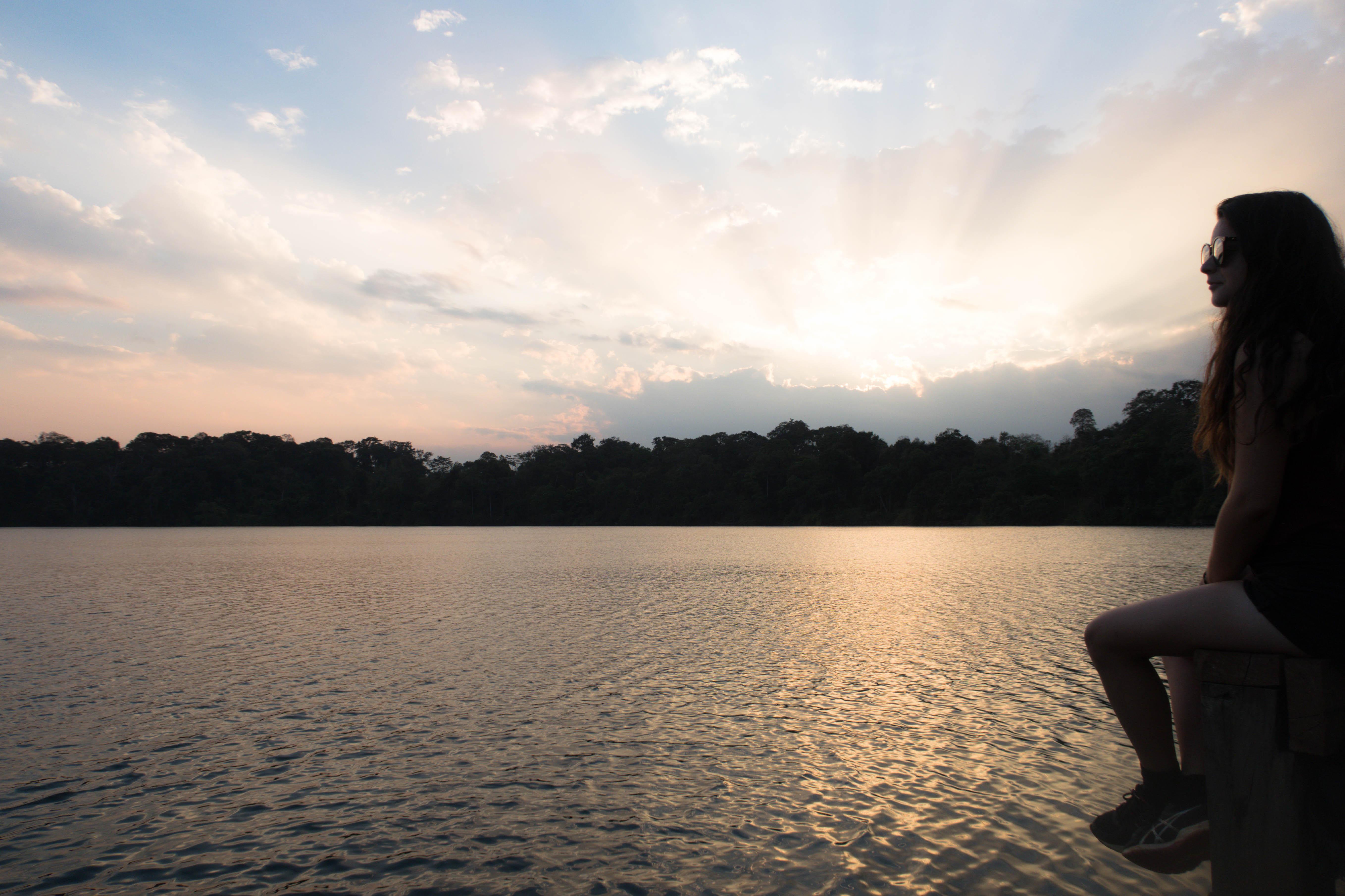Sunset Banlung - CAMBODGE