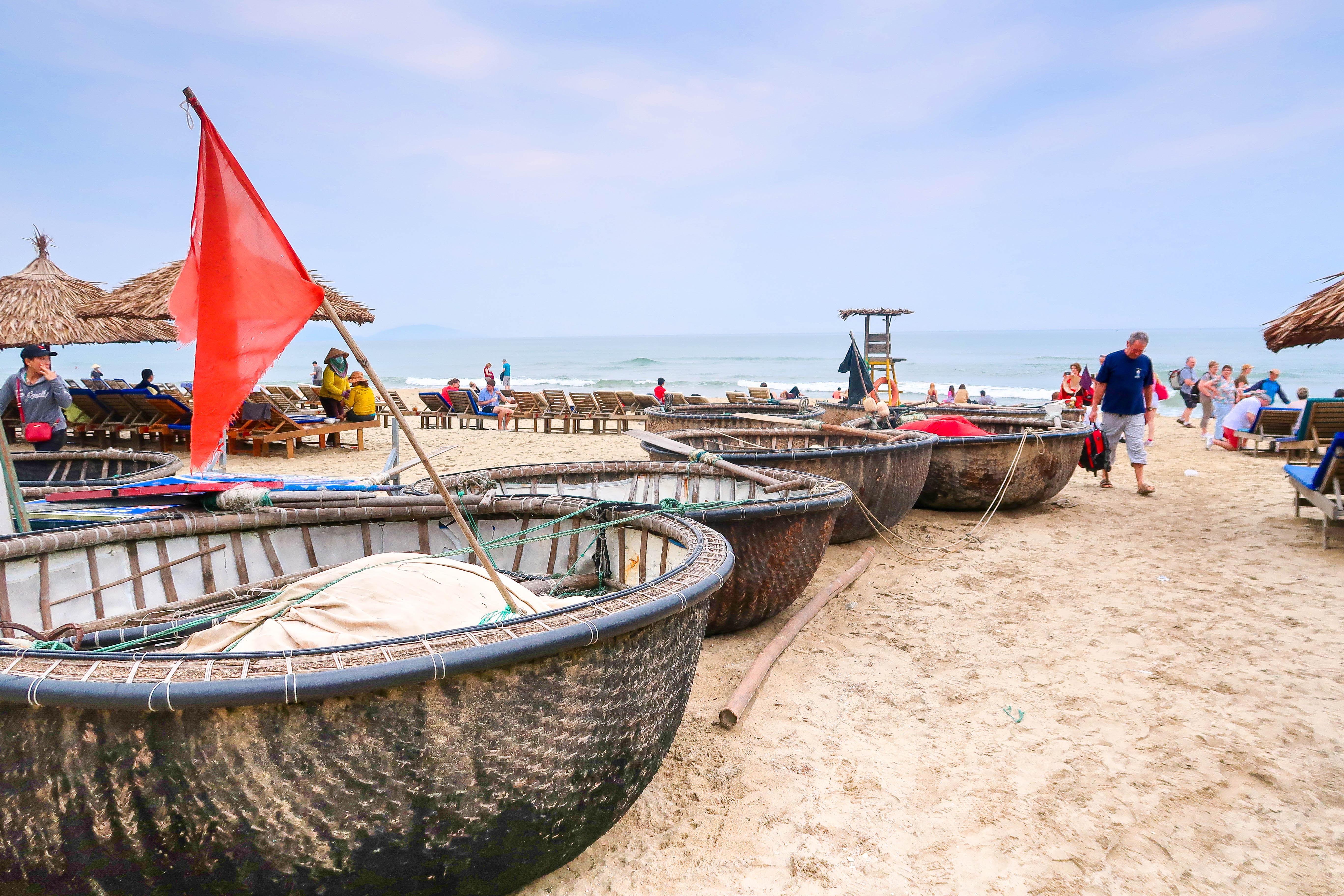 Bateau plage - VIETNAM