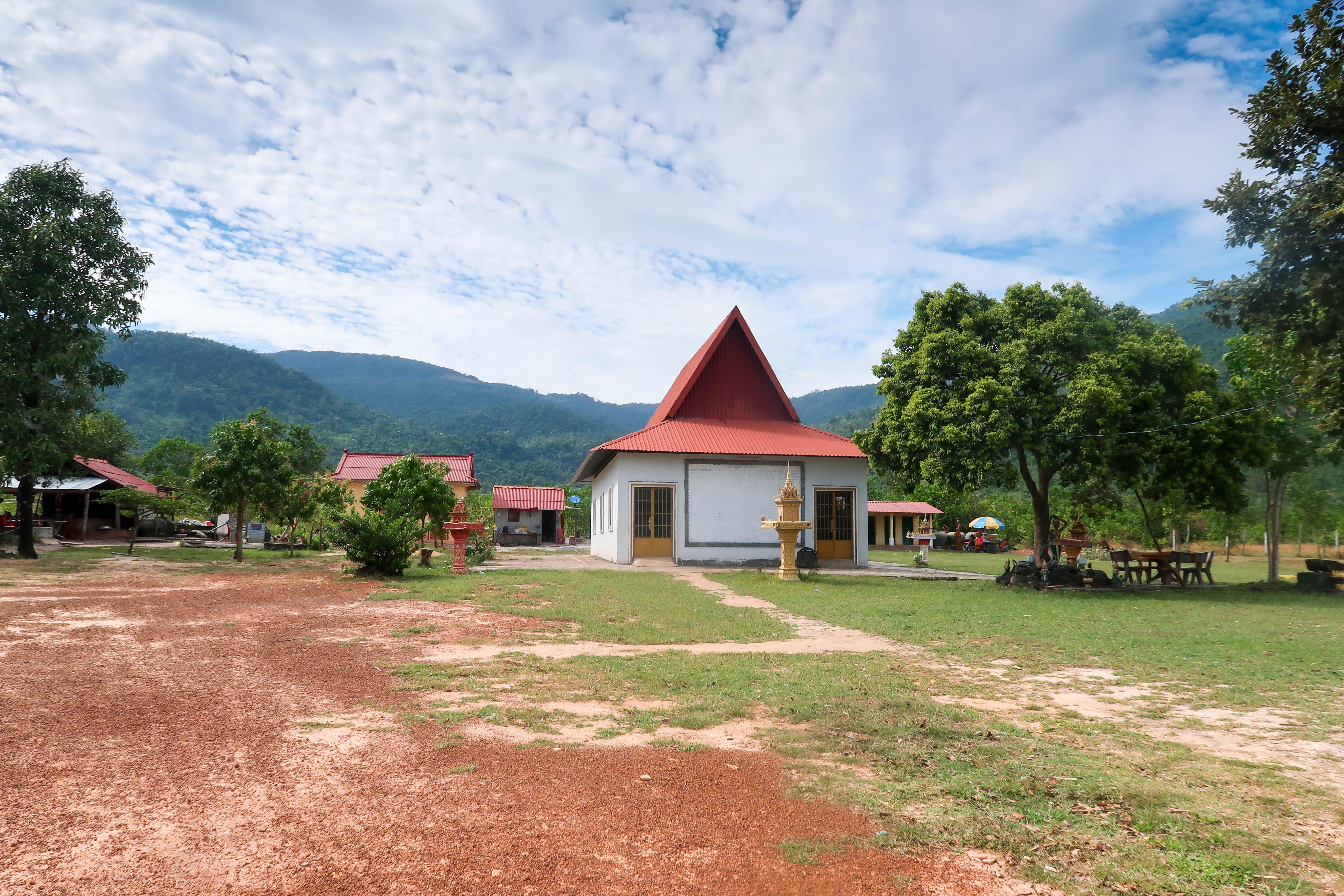 Maison et montagnes - CAMBODGE
