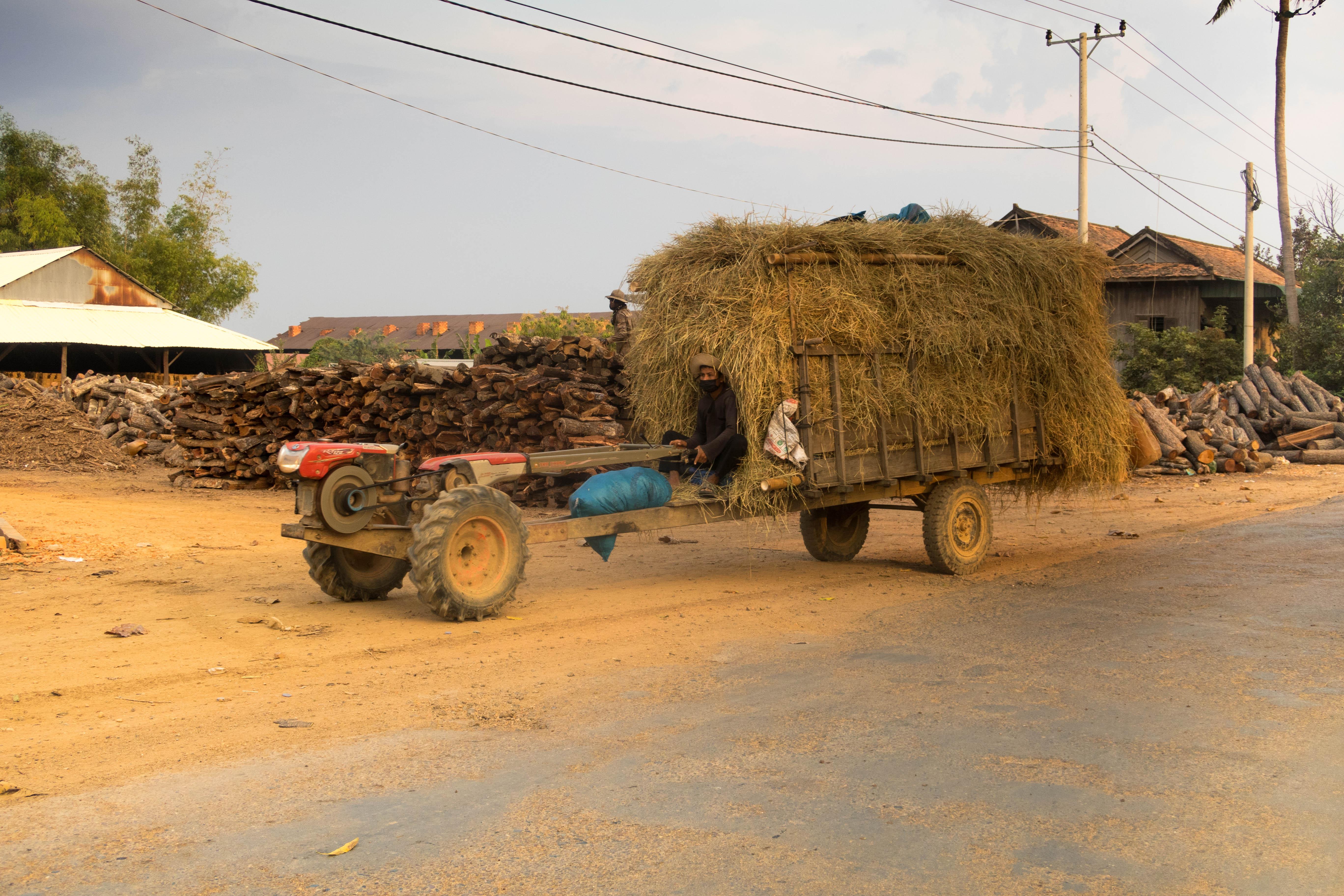 Tracteur - CAMBODGE