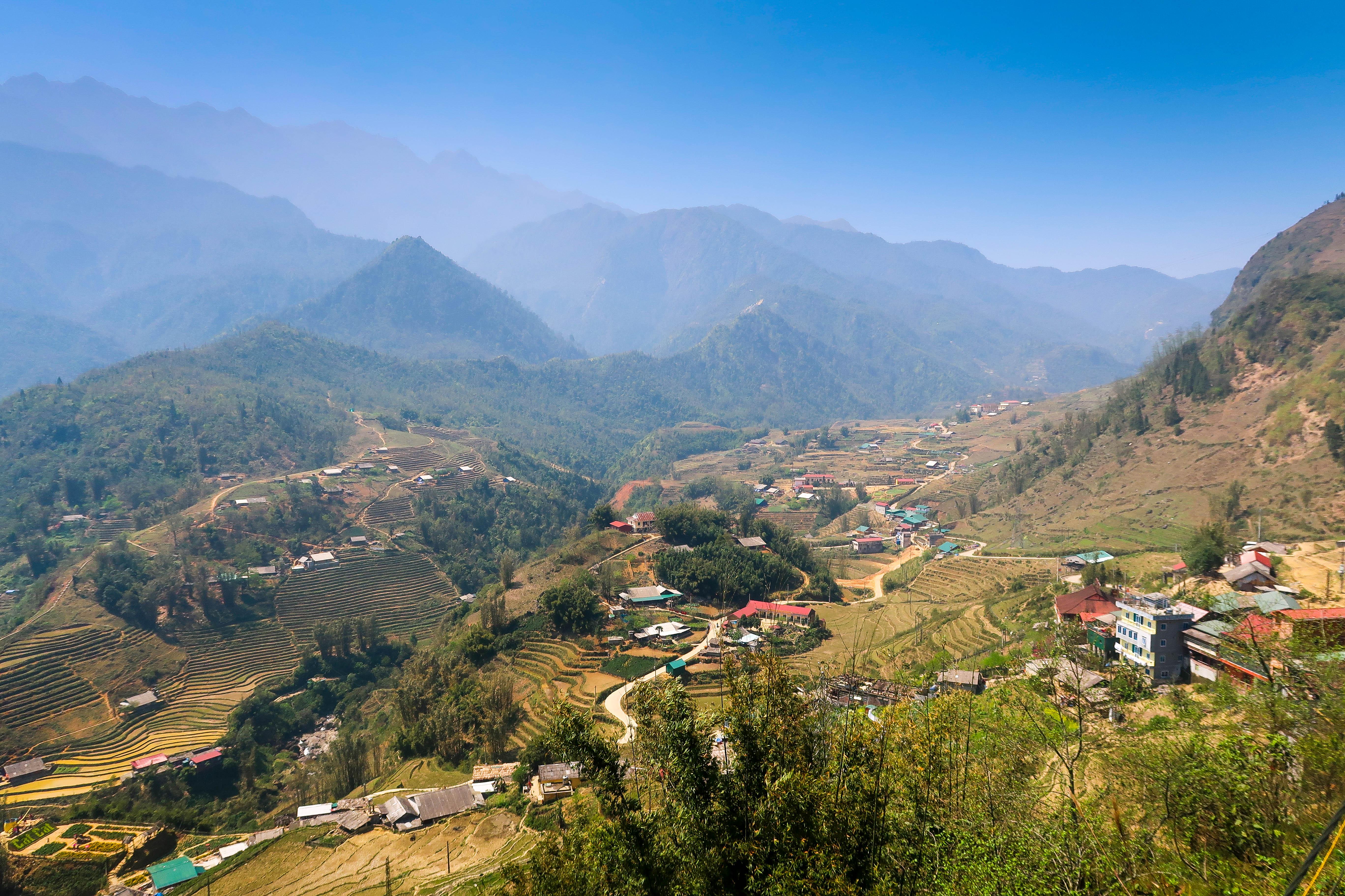 Vue montagne 5 - VIETNAM