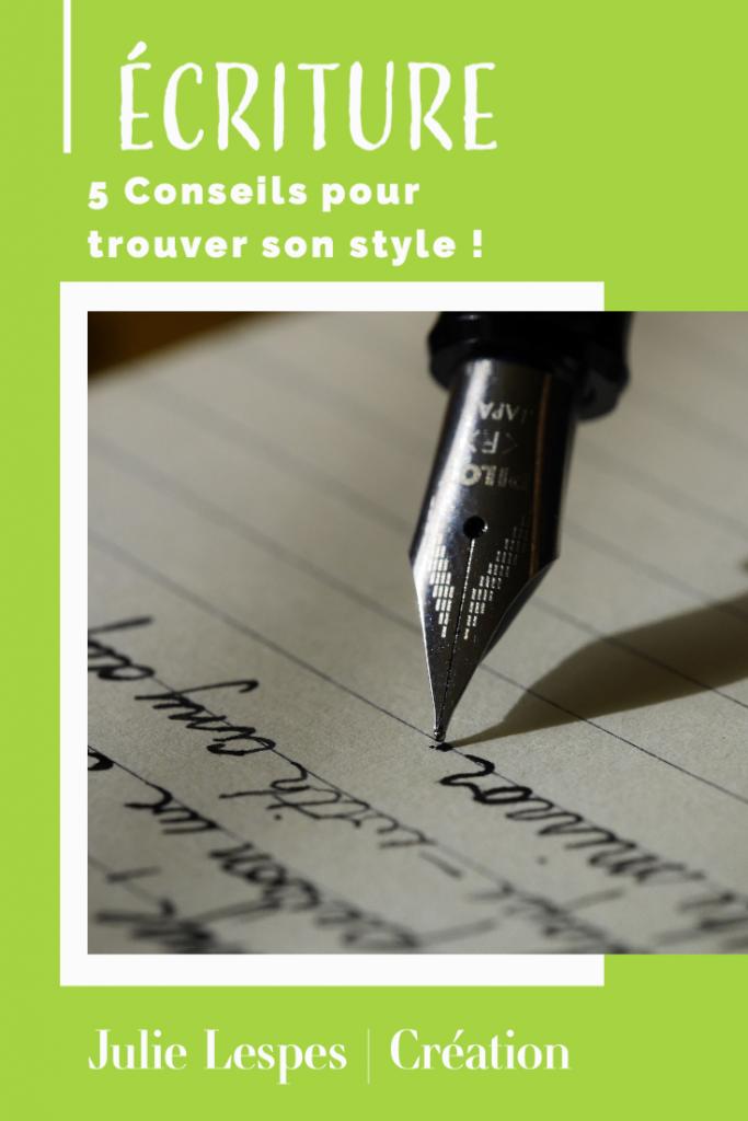 Ma publication 3 683x1024 - Écriture : 5 conseils pour trouver son style !